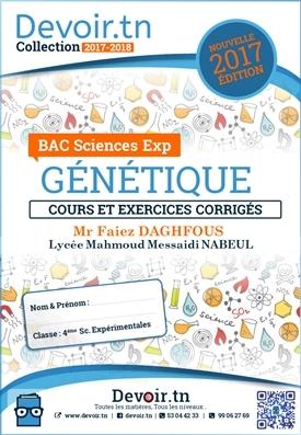 Génétique — Mr Faiez Daghfous + Lycée Mahmoud Messaidi Nabeul