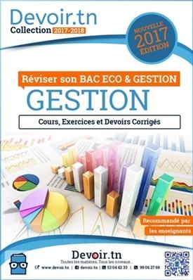 GESTION — BAC Économie et Gestion