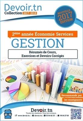 Gestion — Devoirs, Exercices Corrigés, Cours — 2ème Eco