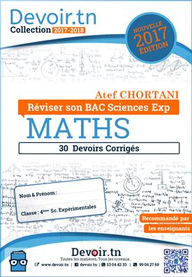 Mathématiques — Plus de 30 Devoirs corrigés — BAC Sc.Expérimentales
