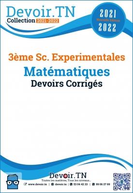 3ème Sc-Ex  Devoirs Corrigés de mathématiques