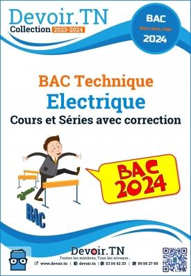 Bac technique cours et séries électrique