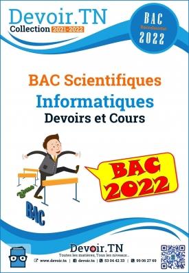 Informatiques cours et devoirs BAC Scientifiques