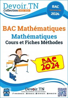 BAC Mathématiques -cours et fiches méthode Mathématiques