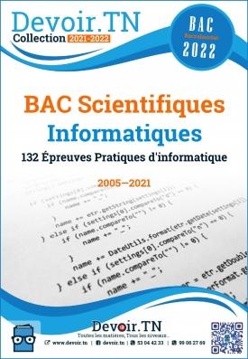 Épreuves Pratiques d'informatiques ( Bac Scientifiques 2005—2019)