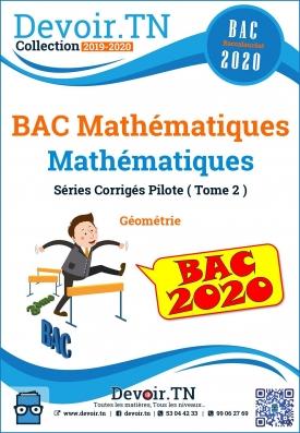 BAC Mathématiques Séries Corrigés Tome 2
